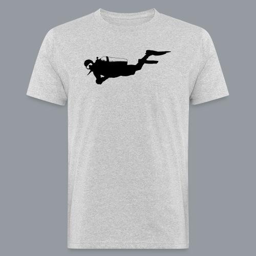 Taucher - Männer Bio-T-Shirt