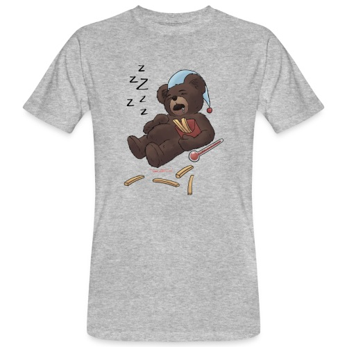 Fieber-Bär ZzZzZZZz - Männer Bio-T-Shirt