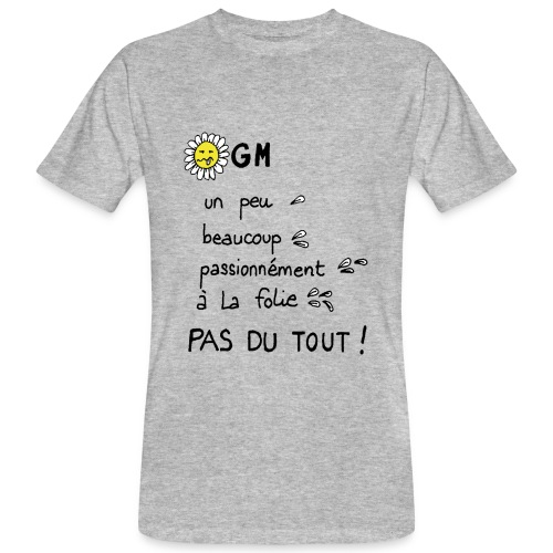 NOOGM - T-shirt bio Homme
