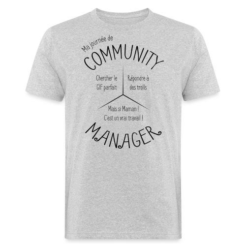 Le Design idéal pour le Community Manager - T-shirt bio Homme