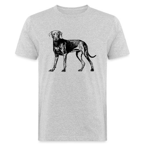 Weimaraner / Hunde Design Geschenkidee - Männer Bio-T-Shirt