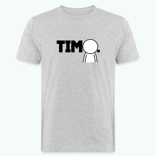 Design met ventje - Mannen Bio-T-shirt