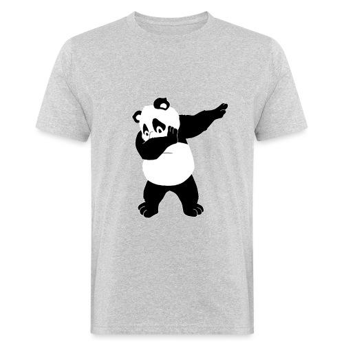 Dabbing Panda Bär - Männer Bio-T-Shirt