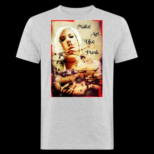 Make Art Like Punk - T-shirt bio Homme