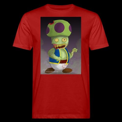 SuperMario: Zombie Toad - Mannen Bio-T-shirt