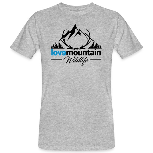 Mountain - T-shirt ecologica da uomo