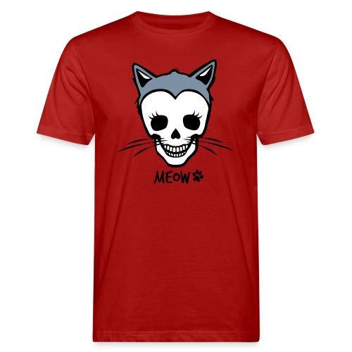 Katzenliebe für immer - Männer Bio-T-Shirt