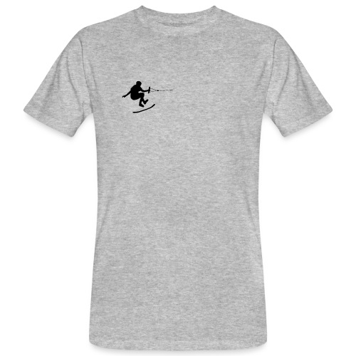 wakeskater_black - Männer Bio-T-Shirt