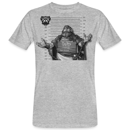 The King - Light BG - Männer Bio-T-Shirt