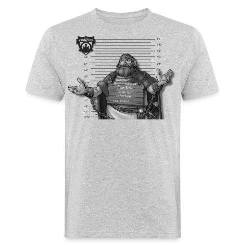 The King - Light BG - Männer Bio-T-Shirt