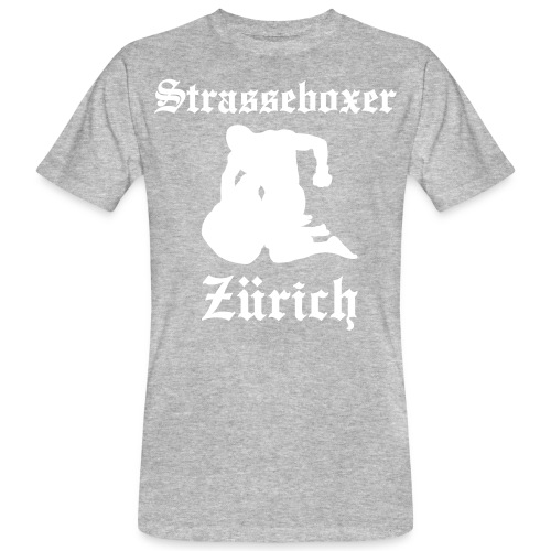 strasseboxer fight - Männer Bio-T-Shirt