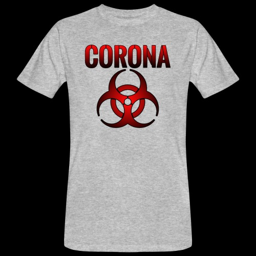 Corona Virus CORONA Pandemie - Männer Bio-T-Shirt