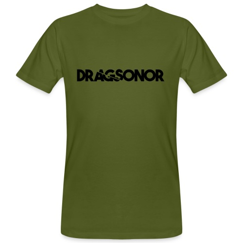 DRAGSONOR black - Men's Organic T-Shirt