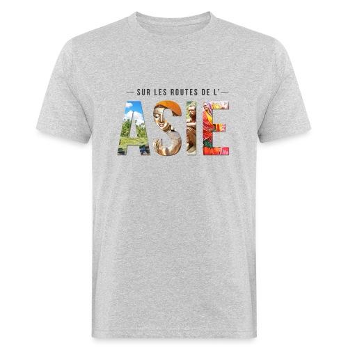 Logo Texte Noir png - T-shirt bio Homme