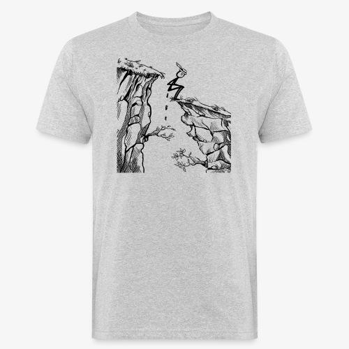 Schluchtenscheisser - Männer Bio-T-Shirt