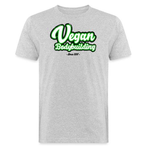 Vegan Bodybuilding -design - Miesten luonnonmukainen t-paita