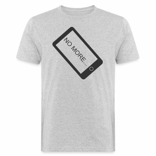 No More Smartphone - T-shirt bio Homme