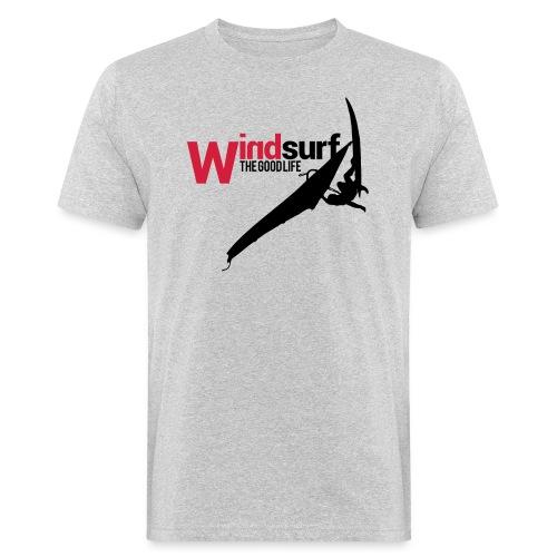 Windsurf - T-shirt ecologica da uomo