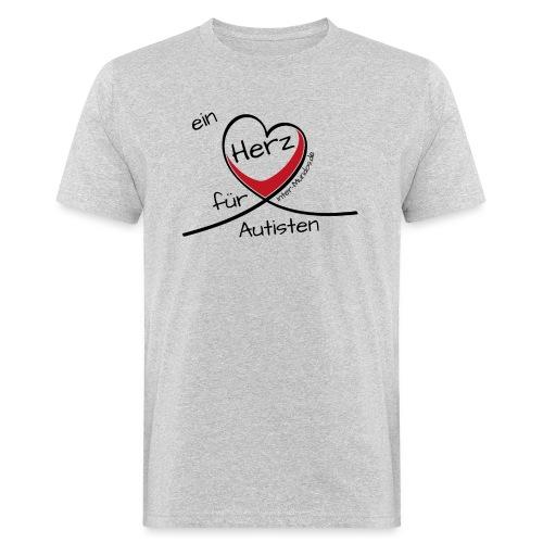 Ein Herz für Autisten - Männer Bio-T-Shirt