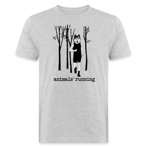 Loup running - T-shirt bio Homme
