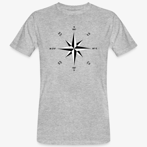 rose des vents - T-shirt bio Homme