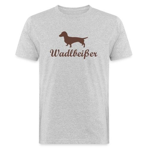 wadlbeisser_dackel - Männer Bio-T-Shirt