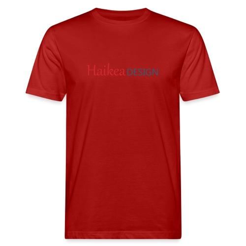 haikea logo - Miesten luonnonmukainen t-paita