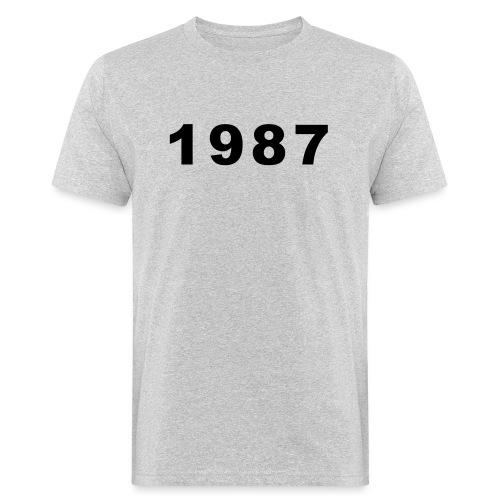 1987 - Mannen Bio-T-shirt