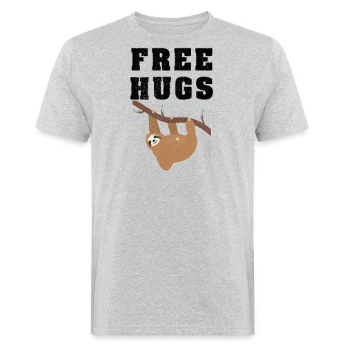 Funny Sloth Quotes - Männer Bio-T-Shirt