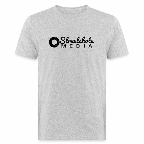 Streetshots Weißspread - Männer Bio-T-Shirt