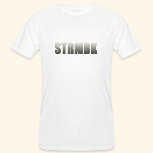 KORTFILM STRMBK LOGO - Mannen Bio-T-shirt