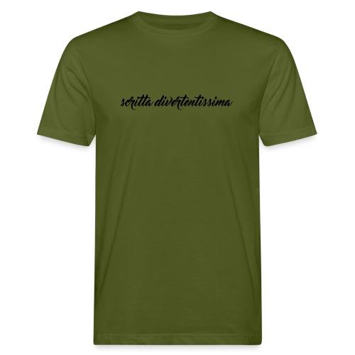 SCRITTA DIVERTENTE - T-shirt ecologica da uomo