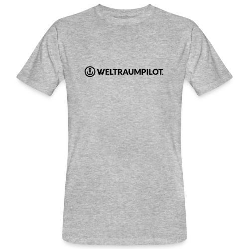 weltraumpilotquer - Männer Bio-T-Shirt