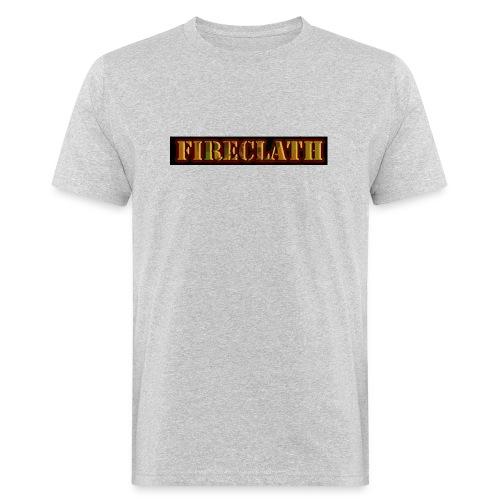 Fireclath Merch - Männer Bio-T-Shirt