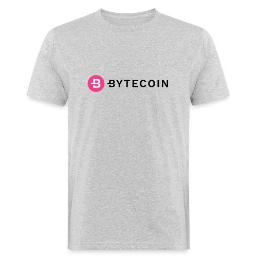 Cryptocurrency - Bytecoin - Männer Bio-T-Shirt