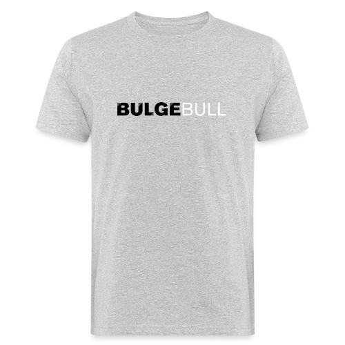 bulgebull logo blanco - Camiseta ecológica hombre