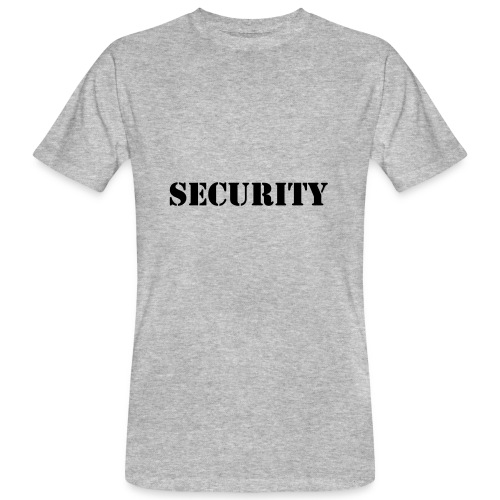 Security - Männer Bio-T-Shirt