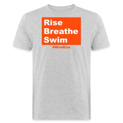 Rise Breathe Swim - Men's Organic T-Shirt