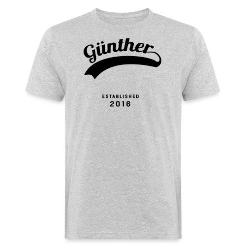 Günther Original - Männer Bio-T-Shirt