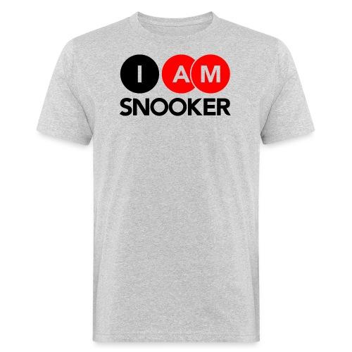 I AM SNOOKER - Men's Organic T-Shirt