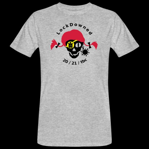 LockDowned - Männer Bio-T-Shirt