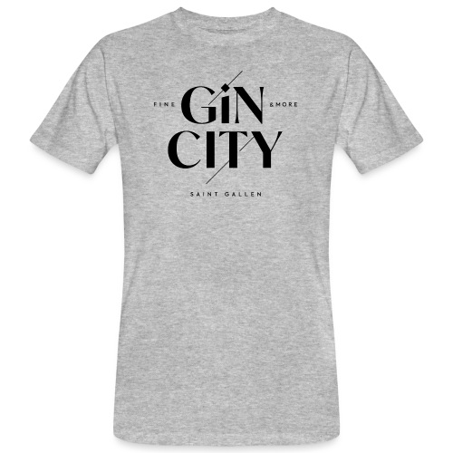 Gin City 2 - Männer Bio-T-Shirt