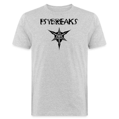 Psybreaks visuel 1 - text - black color - T-shirt bio Homme