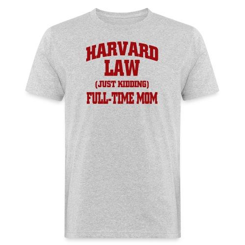 harvard law just kidding - Ekologiczna koszulka męska