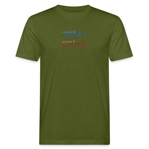 Angelo o Diavolo? - T-shirt ecologica da uomo