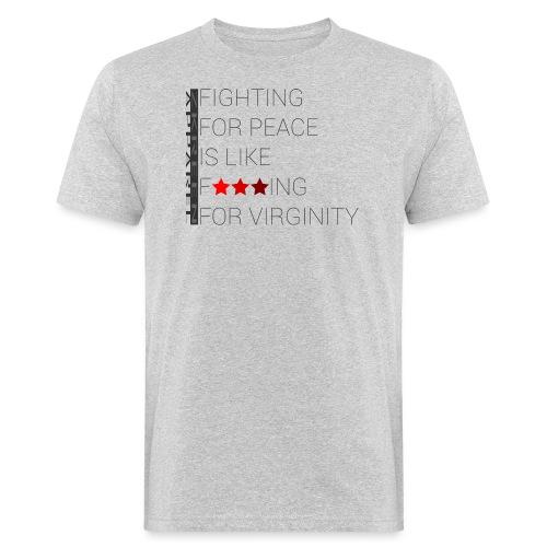 ZKREENAPPAREL fighting fo - Men's Organic T-Shirt