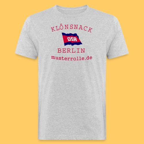 KiB-Logo-gif - Männer Bio-T-Shirt