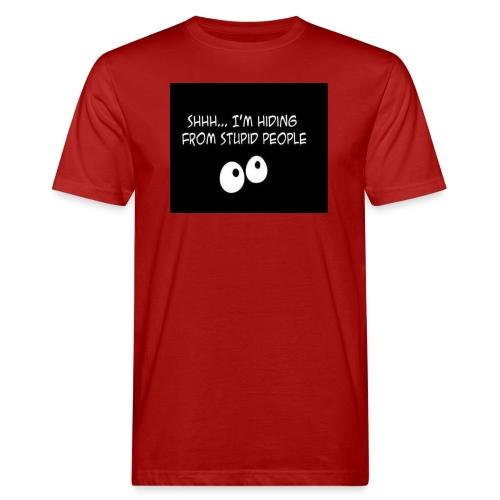 hiding - Mannen Bio-T-shirt