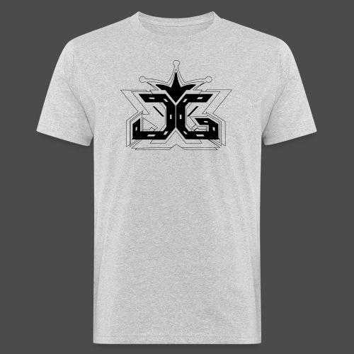 LOGO OUTLINE SMALL - Men's Organic T-Shirt