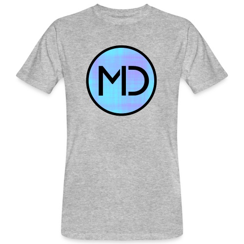 MD Blue Fibre Trans - Men's Organic T-Shirt